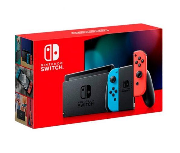 Nintendo Switch 2019 (неоновый)