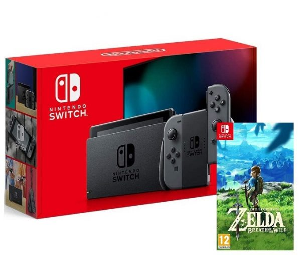 Nintendo Switch 2019 + The Legend Zelda: Breath of the Wild