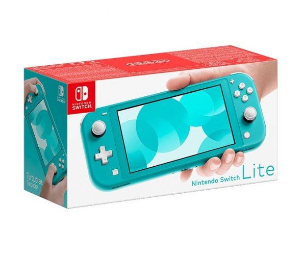 Nintendo Switch Lite (бирюзовый)