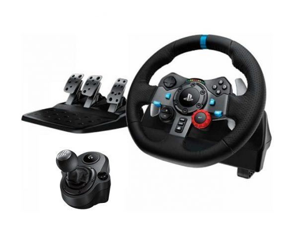Руль Logitech G29 Driving Force + КПП